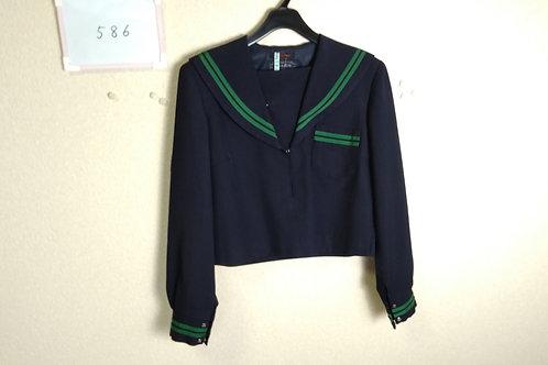 松山西中 女子 制服上 170A