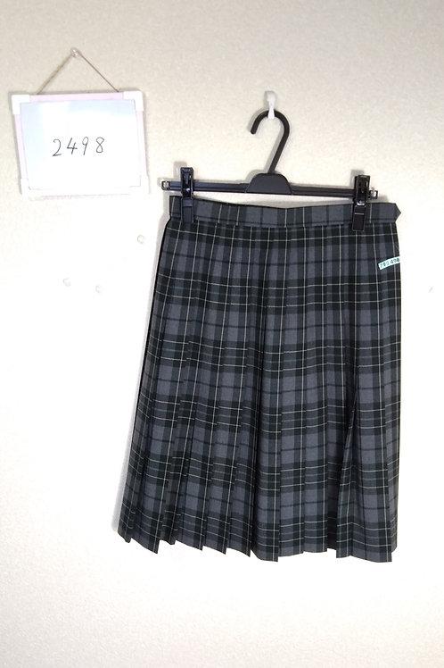 松山東高 女子 夏スカート w66-57