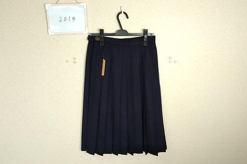 標準中 女子 冬スカート w66-63