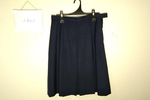 松山中央高 女子 冬スカート 72-63