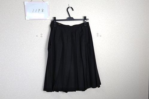 新田高 女子 冬スカート 57-54