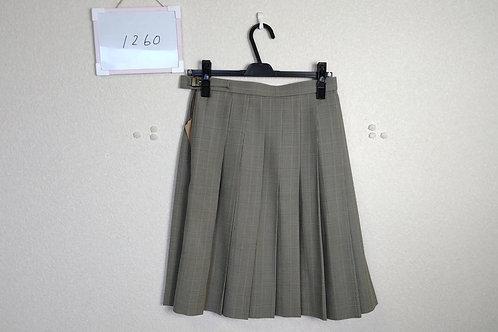 松山西中等 女子 冬スカート 63-53