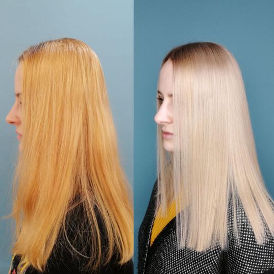 blondy hair okrashivanie