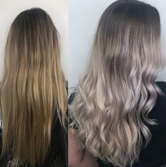 pepelnie volosi ombre shatush balayage