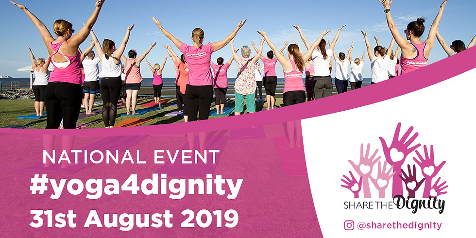 Yoga 4 Dignity charity event!