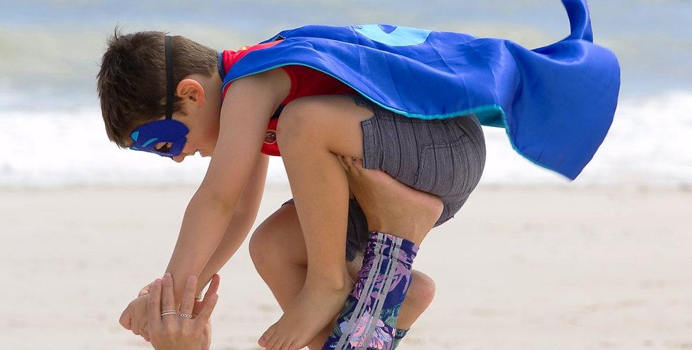 SuperHeroMe Yoga and Acroyoga, TheYogaLeague