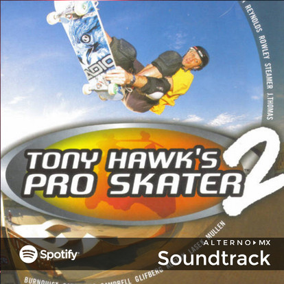 Tony Hawk Pro Skater 2 y su glorioso soundtrack.