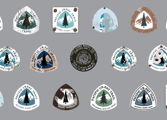 PCT Trail Markers