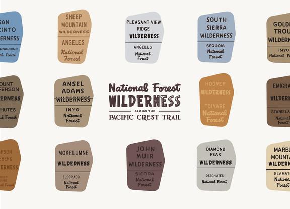 Wilderness Signs