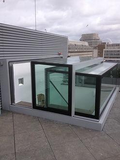 Rooflight servicing and repair, skylight refurbishment, leaking skylight repair