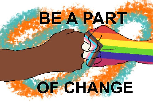 Be a Part of Change Sticker