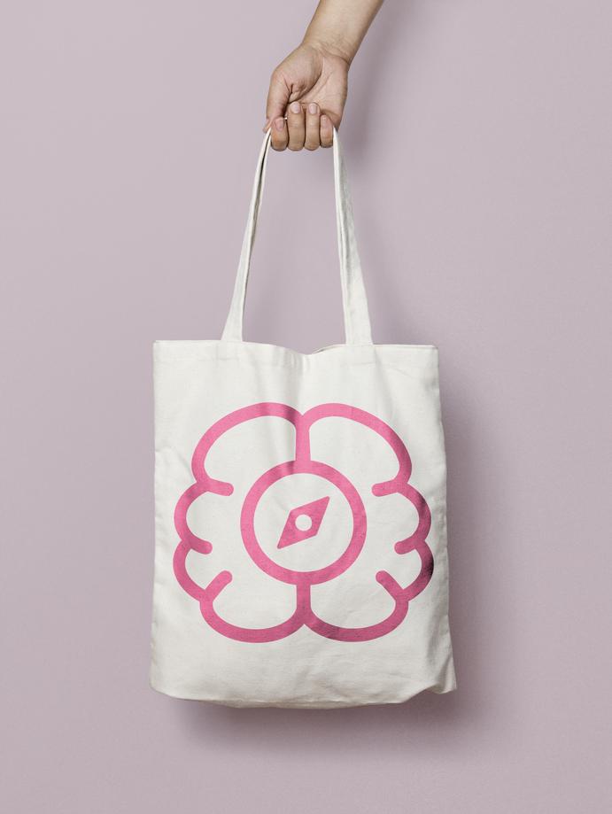 Neural Compass Tote Bag