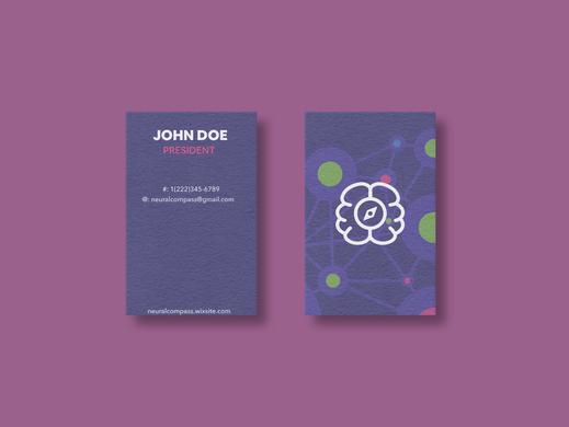 Neural Compass Business Cards