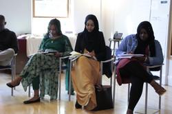 Fellows Seynabou, Malaz, Mamfatou