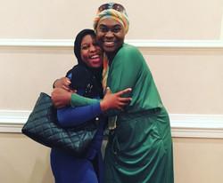 Keziah Ridgeway and Khadija Abdullah