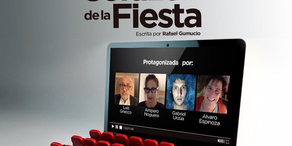 """Living Teatro: """"El corazón de la fiesta"""" (2a función)"""