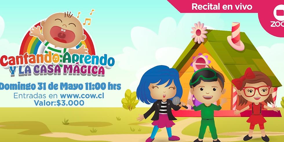 Cantando aprendo y la casa mágica (fuera de Chile)