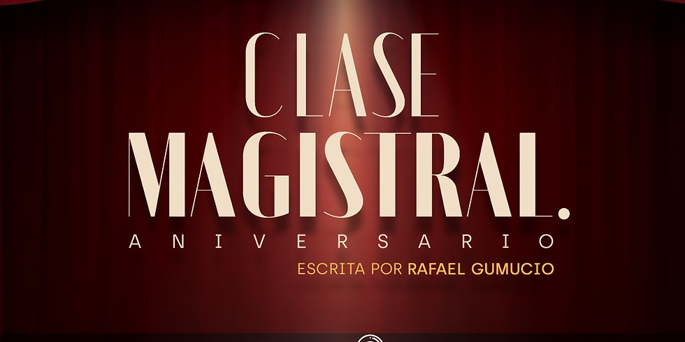 Clase magistral (aniversario)