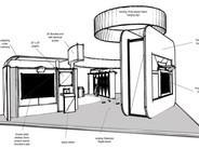 30' x 50' Island concept Sketch