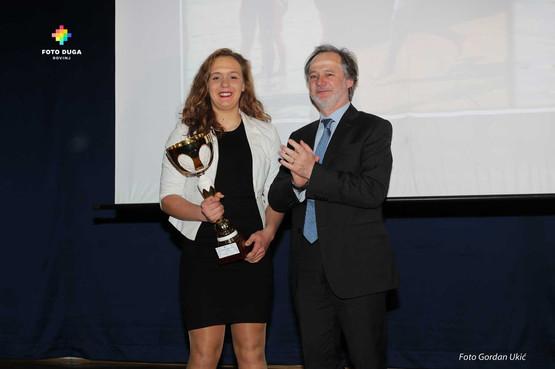 Najbolja sportašica iz Vodnjana Elisabetta Vitasović