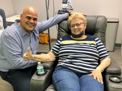 Orlando Resident Confronts Alzheimer's Disease in Clinical Trial