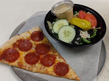 Slice and Salad Lunch Special