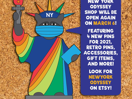 NY Odyssey Store Opens March 6th