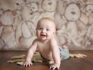 Archie's 6 month shoot