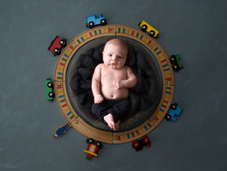 Chanelle's Newborn shoot