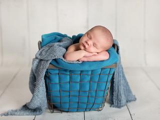 Tyler's Newborn Shoot