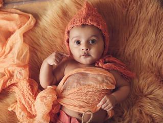 Baby Nimrat~ 3 month shoot