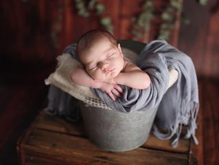 Bernie's Newborn shoot