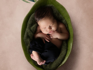 Khadijah's Newborn shoot