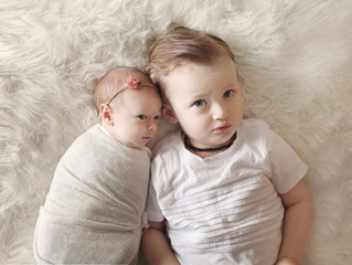 Adam & Jess's Newborn shoot