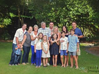 Family Shoot @ Botanic Gardens