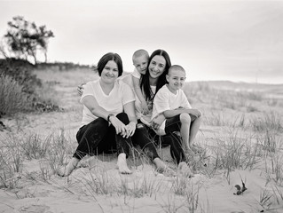 Kate and Corrie's family shoot
