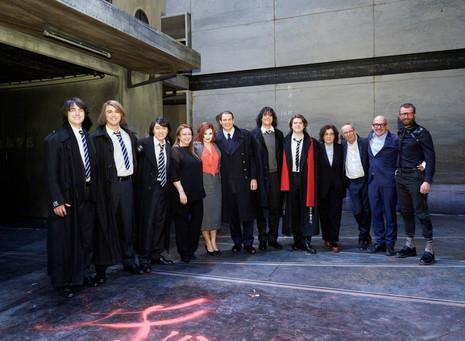 Cast and Leading Team of Henze's DAS VERRATENE MEER