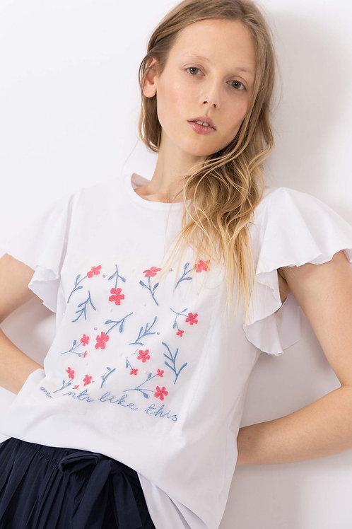 Camiseta c/ Aplique