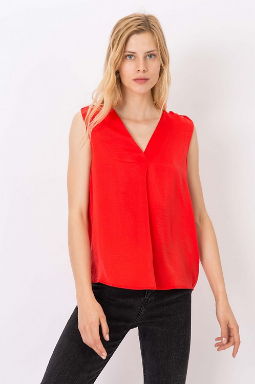 Blusa Pilar rojo