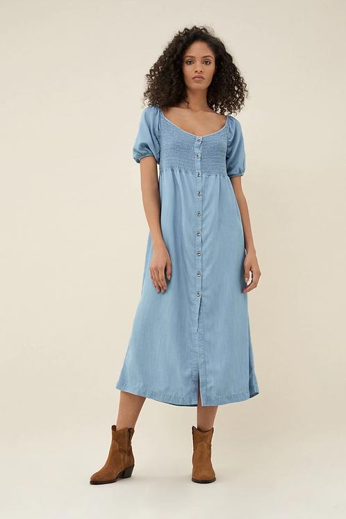 Vestido largo de tencel