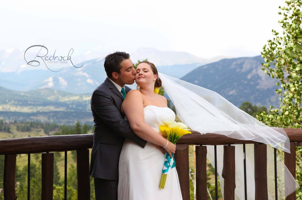 Anna & Jaron's Rocky Mountain, Estes Park Wedding