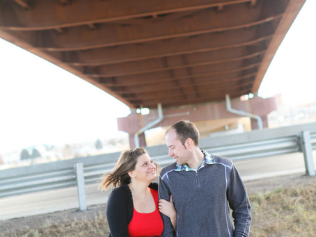 Chad & Anna's Engagement Session - Denver Wedding Photographer