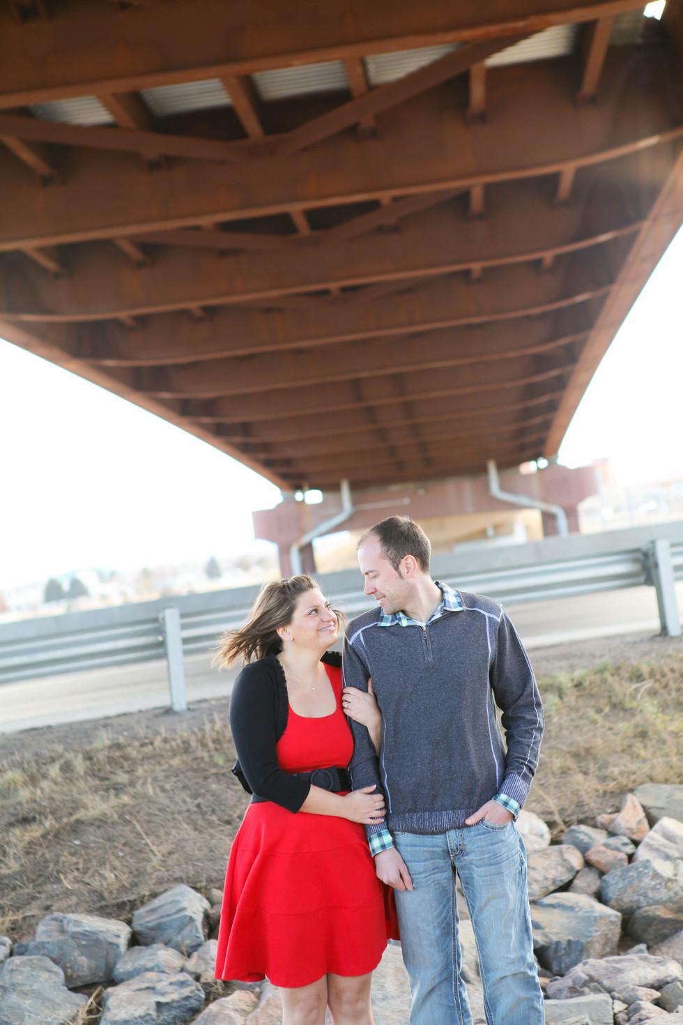 Chad & Anna's Engagement Session - Denver Wedding Photographer