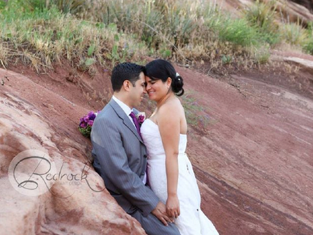 Wil & Nuri's Redrock Wedding