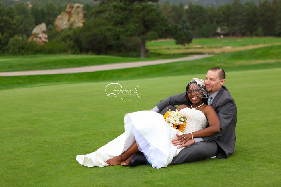 Tashana & Brandon's Perry Park Country Club Wedding, Larkspur Colorado