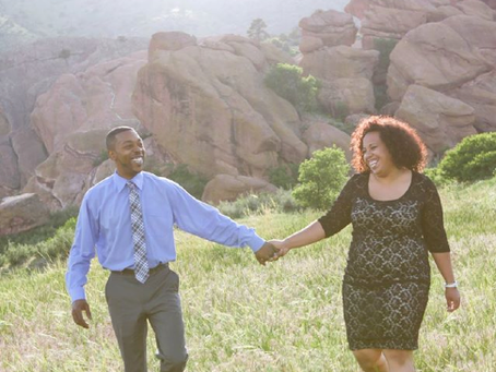 Eric & Joely's Redrock Engagement session
