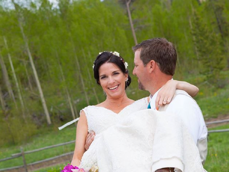 Katie & Damon's Mountain Wedding, Granby Colorado