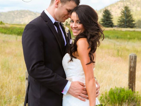 Kelly & David's Intimate Estes Park Wedding