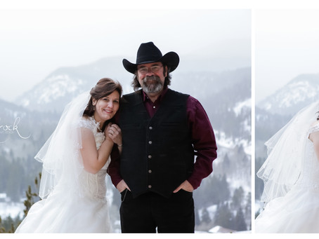 Peaceful Valley Ranch Wedding - Colorado Wedding Photographer