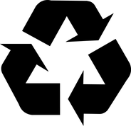 Black Recycling Symbol (U+267B).png